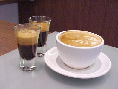 tres espressos