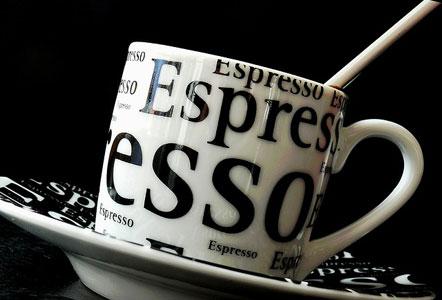 espresso taza