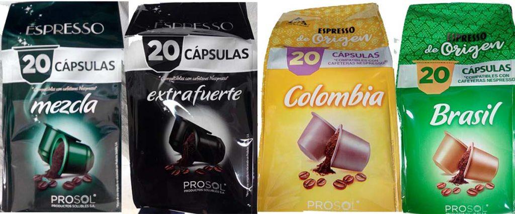 capsulas mercadona compatibles tassimo